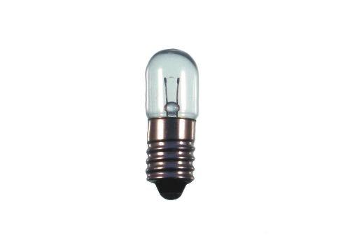 S+H Skalenlampe T3 1/4 10x28mm Sockel E10 6,3 Volt 1,9 Watt