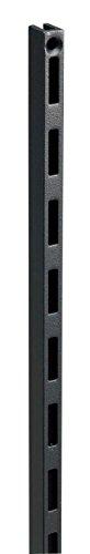 ウッドワン カナモノ 棚柱 ブラック シングル[長さ609mm]2個セット MKTTS06-2-K