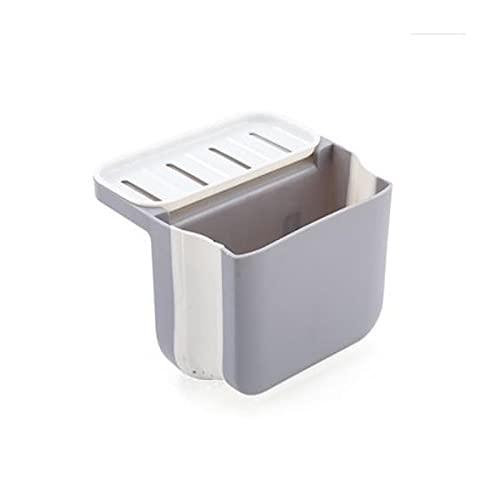 Heigmzzwj - Cestino di scarico per lavello da cucina e cucina con ripiani industriali retrattili, colore: grigio
