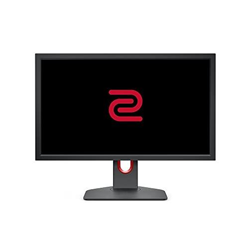 BenQ Zowie XL2411K 24 Inch 144 Hz Gaming Monitor, 1080P, Kleinere Base, XL-instelling om te delen, DyAc, 120 Hz Compatibel voor PS5 en Xbox-serie X