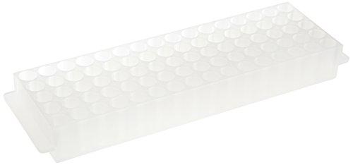 neoLab 2-2566 Top-Rack für 80 Reaktionsgefäße, 1,5 mL, Transparent