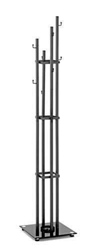 HAKU Möbel Garderobenständer, Stahl, 35 x 35 x 183 cm