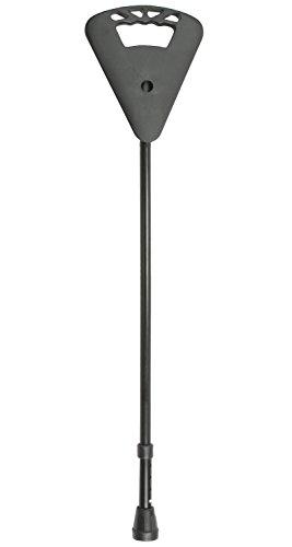 Teleskop-Sitzstock Flipstick schwarz 87-94 cm