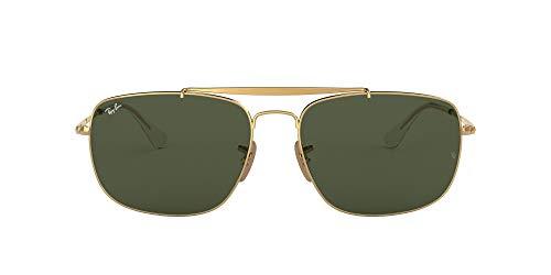 Ray-Ban 0rb3560 001 61 Gafas de sol, Gold, 60 para Hombre