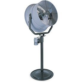 Great Features Of Triangle Engineering 24 Oscillating Pedestal Fan With Poly Housing 1/2 Hp 5600 Cf...