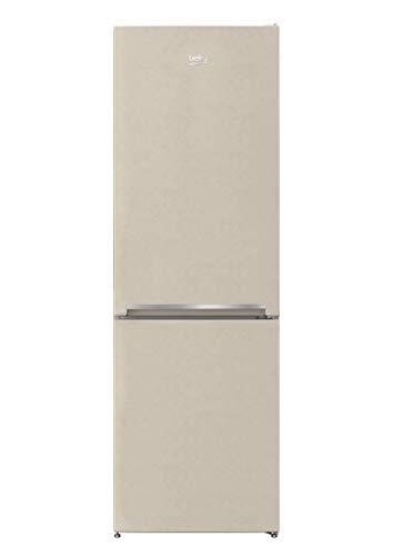 Beko RCSA330K30BN - Frigorifero Combinato, 205 Litri, Classe A+, Statico colore Sabbia
