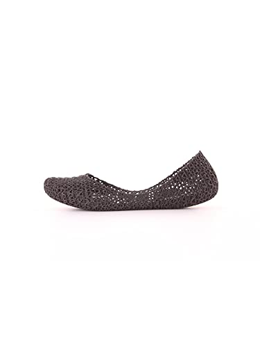 Melissa Damen Campana Papel VII Geschlossene Ballerinas, Schwarz (Black Glitter 52682), 39
