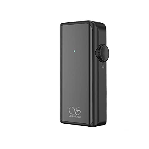 YaGFeng Amplificador UP2 Compatible con LDAC/LHDC/AptX/AAC/SBC Amplificador de Auriculares Bluetooth de Alta Fidelidad Portátil