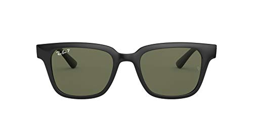 Ray-Ban RB4323-601/9A Gafas de sol, Negro, 51 Unisex