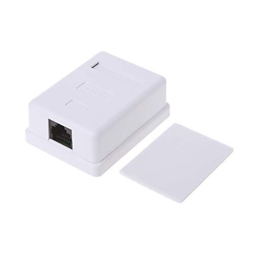 Cable Ethernet Cat5e RJ45 8P8C HM-HB01 Modelo UTP sin blindaje de un solo puerto