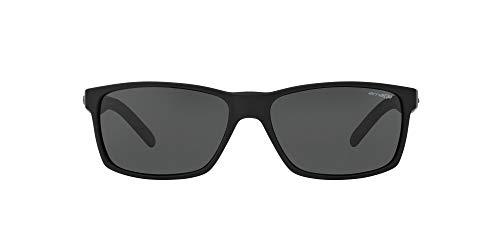 ARNETTE Slickster gafas de sol, Black Rubber, 58 para Hombre