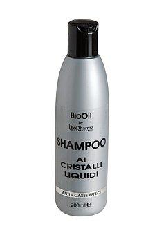 Bio Oil – Cheveux Shampooing contre les cheveux cassés et pointes fourchues Cristaux liquide – pour que vos Cheveux afin de Restaurer SA Beauté naturelle