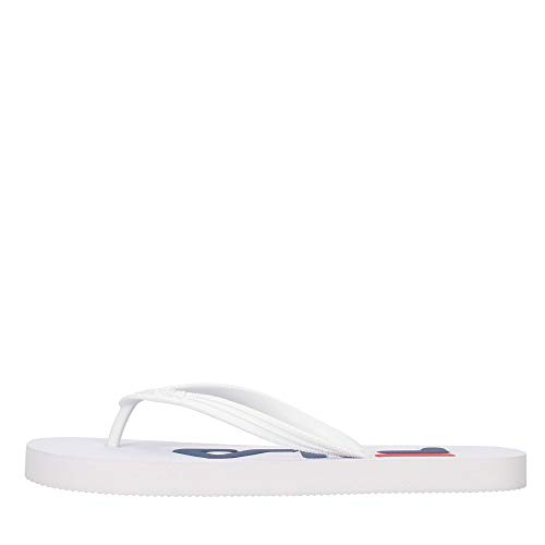 FILA Troy wmn Damen Slipper, Weiß (White), 40 EU