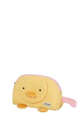 Samsonite Happy Sammies Eco - Beauty Case, 22 cm, 2.5 L, Giallo (Duck Dodie)