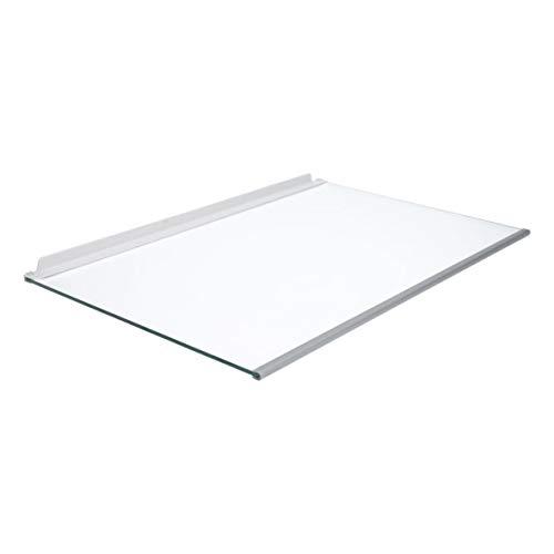 Glasplatte Glasscheibe Glastragplatte Absteller Abstellplatte Platte mit Leisten 470x300mm für Kühlschrank ORIGINAL Neff Siemens Bosch 674929 00674929