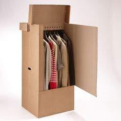 D-B Caja Armario de cartón (Pack de 5 Unidades)