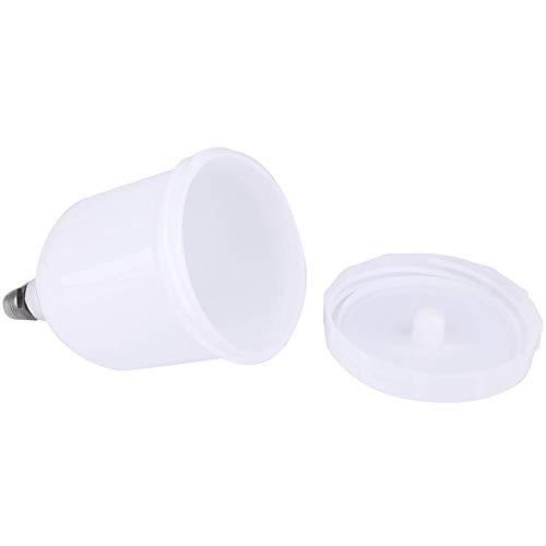 𝐑𝐞𝐠𝐚𝐥𝐨 𝐝𝐞 𝐍𝐚𝒗𝐢𝐝𝐚𝐝 Bote de la taza del pulverizador, bote de pistola de pulverización de 600 ml Vaso de pintura plástica de alimentación por gravedad para D-evilbiss GTI/T-EKNA Pro Pri F