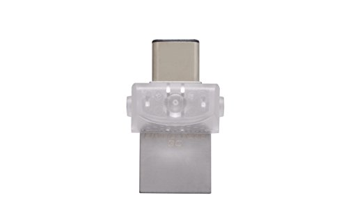 Kingston DTDUO3C/128GB USB Stick DataTraveler (microDuo 3C, USB3.0/3.1 Type-C)
