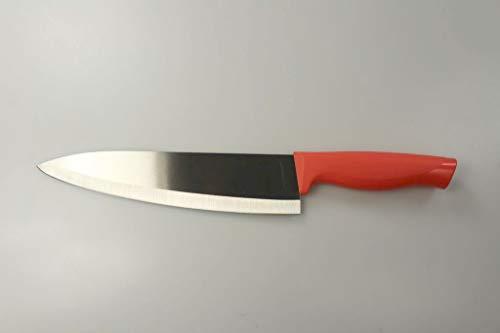 Tupperware Essential-Serie Messer groß Kochmesser Fleischmesser lachs