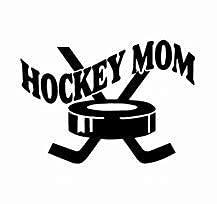 Diuangfoong Pegatina de hockey mamá calcomanía para tu coche, camión, SUV, teléfono, tableta, ventana, parachoques 546# 10 pulgadas