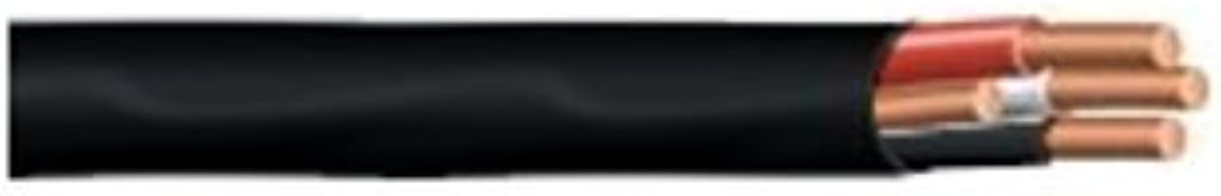 8/3 NM-B, Non-Metallic, Sheathed Cable, Residential Indoor Wire, Equivalent to Romex (75ft Cut)