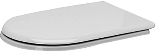 Duravit 0068590000 Elongated Toilet Seat and Cover, White