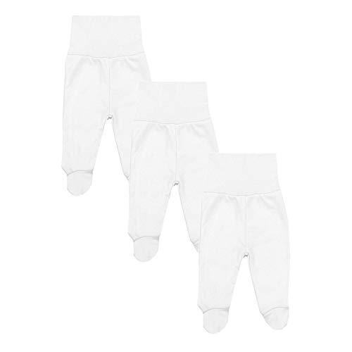 TupTam Baby Jungen Strampelhose mit Fuß 3er Pack, Farbe: Farbenmix 4, Größe: 56