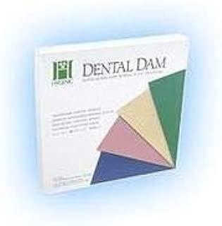 Coltene/Whaledent H04642 Fiesta Dental Dam 6x6 Medium 36Bx
