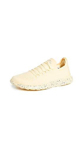 APL: Athletic Propulsion Labs Women's Techloom Breeze Sneakers, Lemon Zest/Speckle, Yellow, 7.5 Medium US