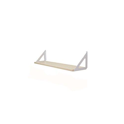 Lingyun Étagère- Support de tableau artificiel ➫ Décoration de salon ❀ Support de pot de fleurs ❁ Décoration murale ❀ Tablette de tableau artificiel multifonctionnel ❁ Support à fleurs ❀ Présentoir ( Couleur : Blanc , taille : 60*20CM )
