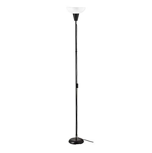 TÅGARP Lámpara de pie elevadora Blanco y Negro