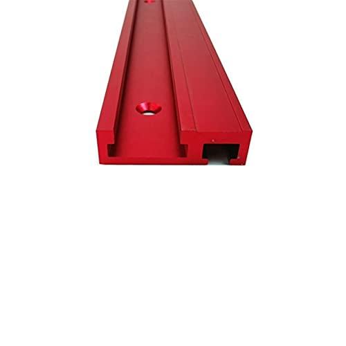 LF&LQEW 1set T-Rail Standard en Aluminium 45mm Largeur électrique Scie Circulaire Flip Table Tronçonneuses 400/600 / 800mm Seulement Chute Non Echelle (Taille : 600mm)