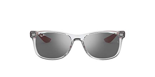 Ray-Ban 0RJ9052S-70636G-48 Gafas, Transparent Grey, 48 Unisex niños
