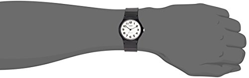Casio watches Casio Men's Classic Quartz Watch with Resin Strap, Black, 20 (Model: EAW-MQ-24-7B2)