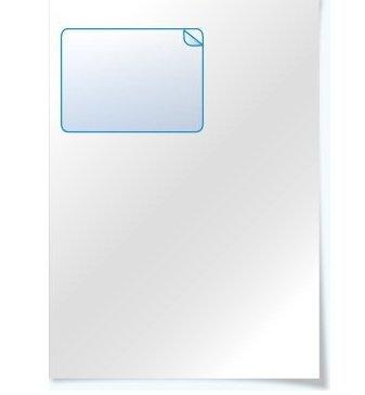 Paper-Media Lot de 100 feuilles de papier de facturation avec autocollants d'adresse intergridants pour Amazon et Ebay Format A4