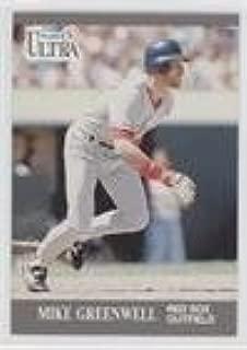 Mike Greenwell (Baseball Card) 1991 Fleer Ultra - [Base] #32