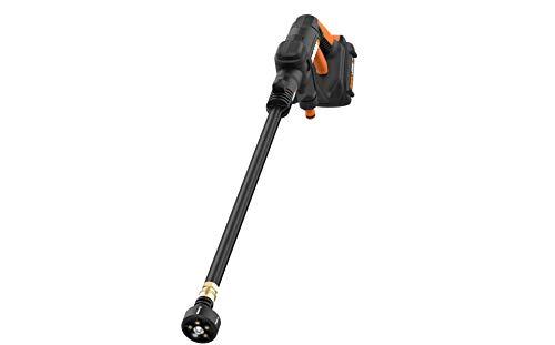 Product Image 7: WORX WG625 20V Hydroshot Cordless Portable Power Cleaner, Black and Orange