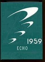 (Custom Reprint) Yearbook: 1959 Kirby High School - Echo Yearbook (Woodville, TX)