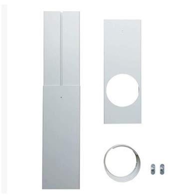 Kit de placa de ventana de plástico universal para aire acondicionado portátil y secadora, 3 unidades