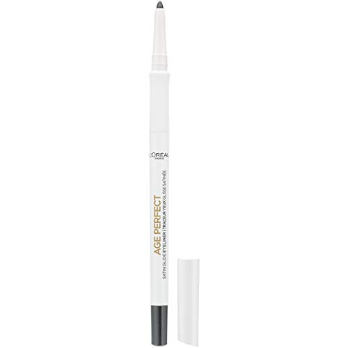 L'Oreal Paris Age Perfect Satin Glide Eyeliner with Mineral Pigments, Charcoal