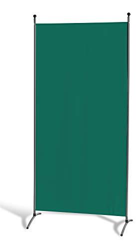 GRASEKAMP Qualität seit 1972 Stellwand 85 x 180 cm - Grün - Paravent Raumteiler Trennwand Sichtschutz