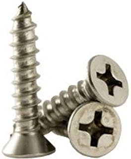 "Self Tap Screws Pozi Pan Head No 7 Stainless by 3//8/"" 9.5mm 3.9mm Qty 50"