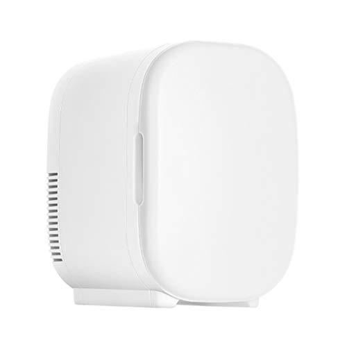 Kleiner Kühl-Kühlschrank, 6 l, Auto, Mini-Haushalt, Vermietung, Studentenwohnheim, Heizung und Einmalgebrauch, drei Farben, 25 x 21 x 29,5 cm weiß