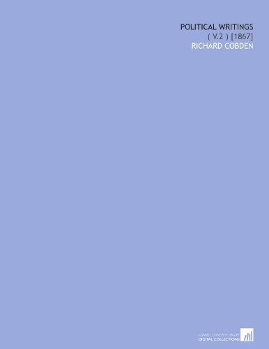 Political Writings: ( V.2 ) [1867]