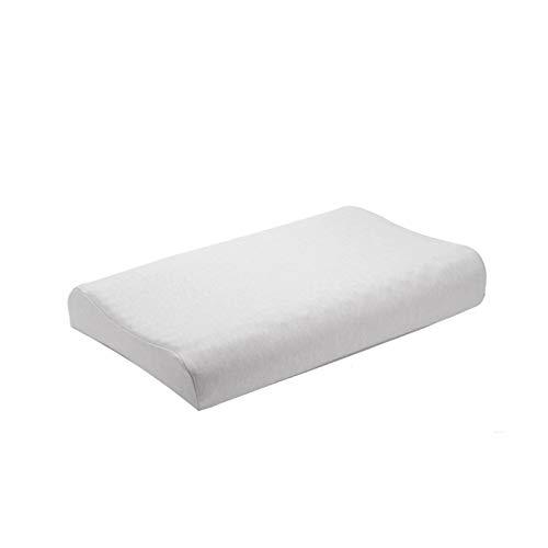 20 * 12 * 3.5 Pulgadas para Eliminar los ácaros Almohadas de látex Natural Relaja el Cuello uterino para Adultos Adecuado para Dormitorio de Estudiantes, Siesta de Oficina, Viaje de Negocios