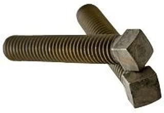 Thermal Black Oxide Quantity: 50 Case Hardened 5//8-11 x 1-1//2 - Grub-Blind-Allen-Headless Screw Alloy Steel Set Screws Square Head