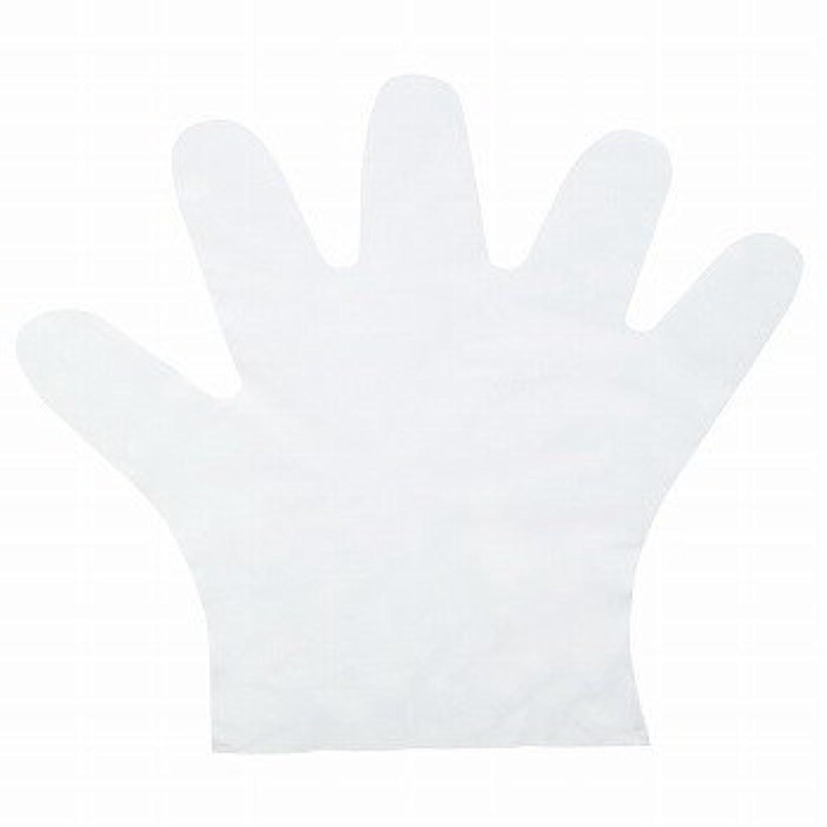知り合いになる学校の先生みすぼらしいおたふく手袋/ポリエチディスポ(LD) [100枚入]/品番:248 サイズ:M