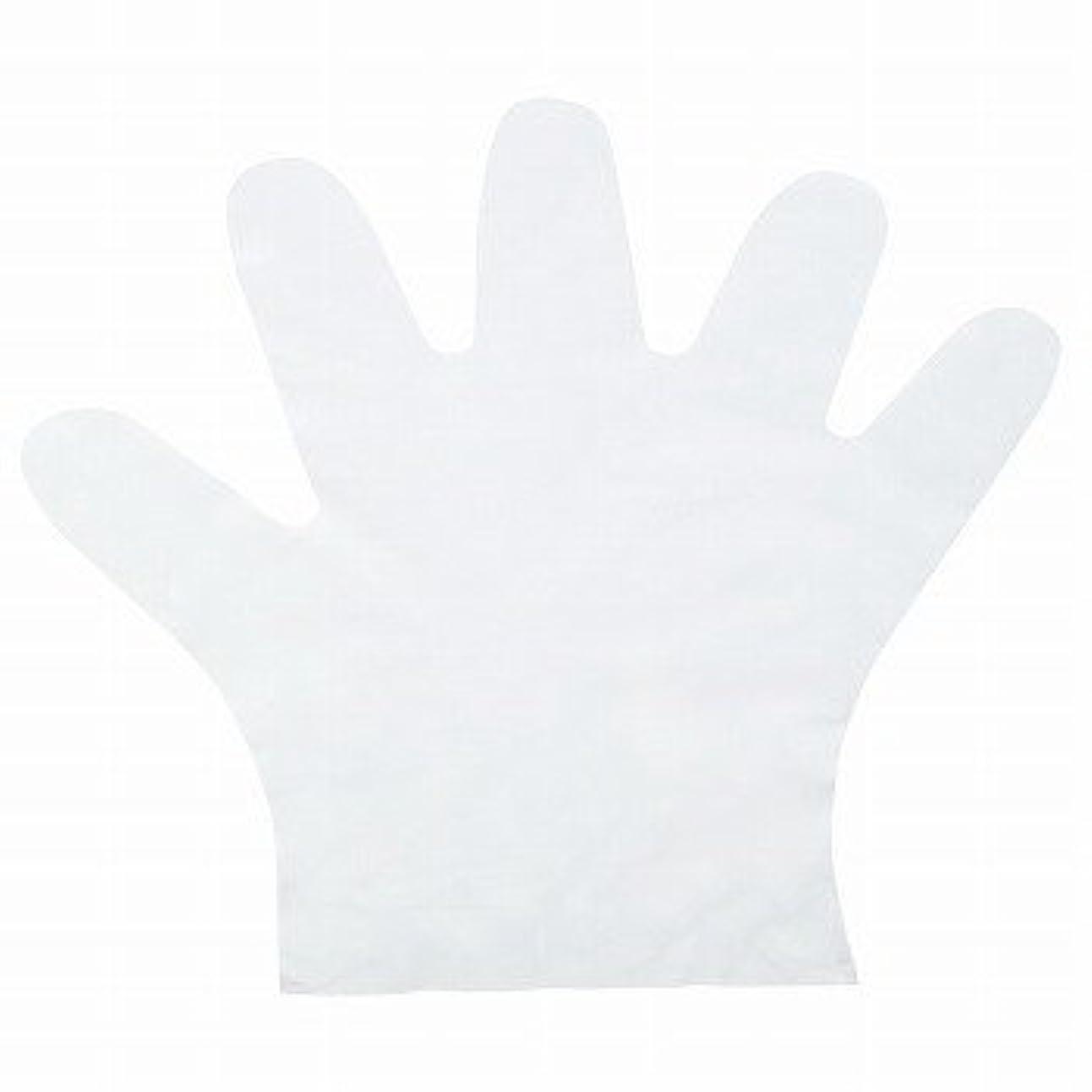 導体熱意マラソンおたふく手袋/ポリエチディスポ(LD) 100枚入×50セット[総数5000枚]/品番:248 サイズ:M