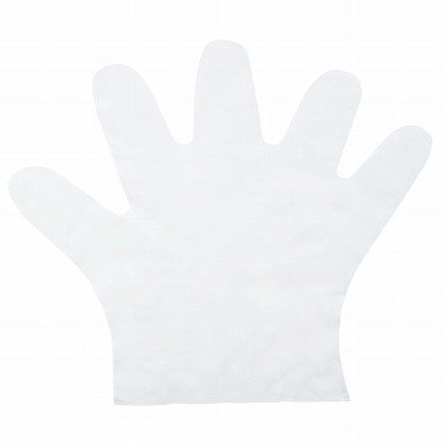 見える公平ノートおたふく手袋/ポリエチディスポ(LD) [100枚入]/品番:248 サイズ:M