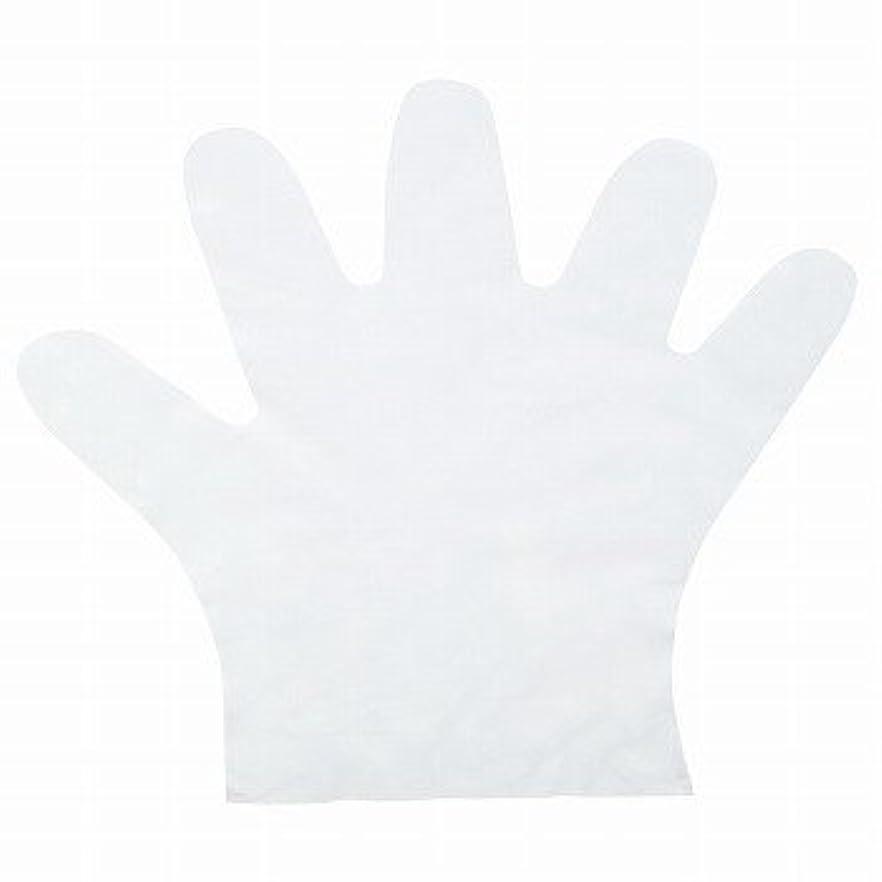 プラットフォーム支払う辞書おたふく手袋/ポリエチディスポ(LD) 100枚入×50セット[総数5000枚]/品番:248 サイズ:M